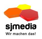 Logo sjmedia - Online- und Druckmedien