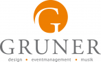 Logo GRUNER - design · eventmanagement · musik
