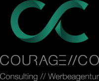 Logo Courage // Co Schwerin Marketing KG