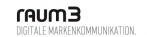 Logo raum3 Werbeagentur für digitale Markenkommunikation