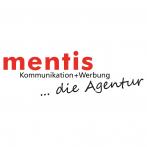 Logo mentis Kommunikation + Werbung